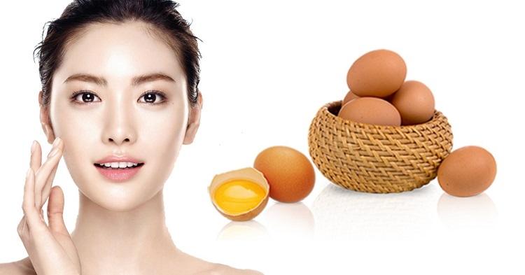 Lòng trắn trứng gà giúp trị mụn rất tốt